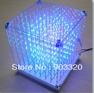 Factory Price NEW SMD F5 3 in1 Laying 3D Cube Light for Advertising,DJ party Show,LED Display,SD CARD CUBE LGIHT