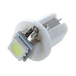 10 шт. T5/B8.5D 5050 SMD светодиодный разъем о 'кей Белый фар