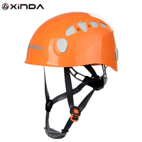 Xinda Professional Mountaineer Rock Climbing Helmet Safety Protect Outdoor Camping Hiking Riding Helmet