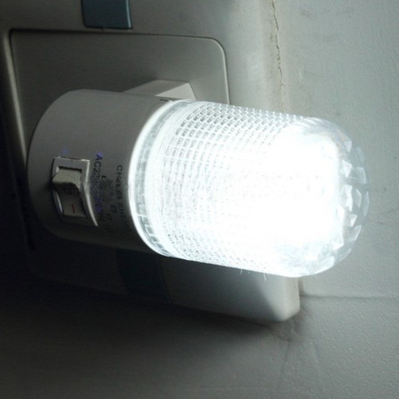 Ordinary Sample Small Night Light Energy Saving Led Plug In Lamp Bed Lighting With Switch Socket For Usa Home Garden Accessories Lights From