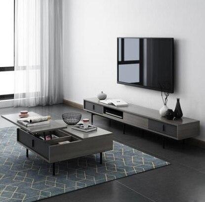 Madère Para moderne Soporte De Pie Riser nordique en bois Mueble Table moniteur support salon meubles Tv meuble table basse