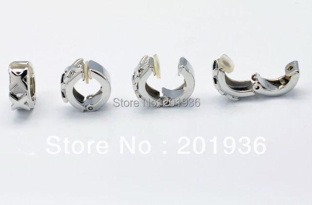 Men Earringsmen S Fashion Cool Single Earring Double X Type No Pierced Clip