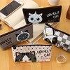 Neuheiten Kreative Cartoon Erstaunliche Nette Frische Mode Schöne Katze Koreanische Stil Gummi Münzen Süßigkeiten Zu Hause Büro Lagerung Taschen EZ