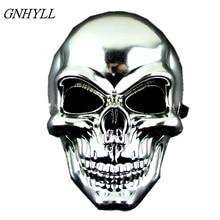 GNHYLL горячая маска для лица, тактические маски Охота Хэллоуин мотоцикл Наружние военные игры Пейнтбол полная защита маска для лица