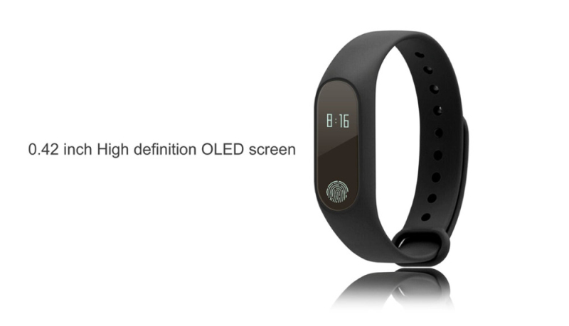 DTNO.I mi band 2 M2 Smart Bracelet Heart Rate Monitor Bluetooth Smartband Health Fitness Tracker SmartBand Wristband 7