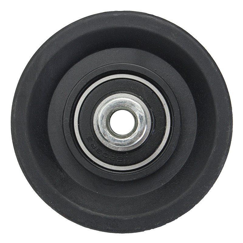 Лидер продаж 90 мм черный износостойкий нейлон подшипник шкив 3.5 кабель тренажерный зал ...