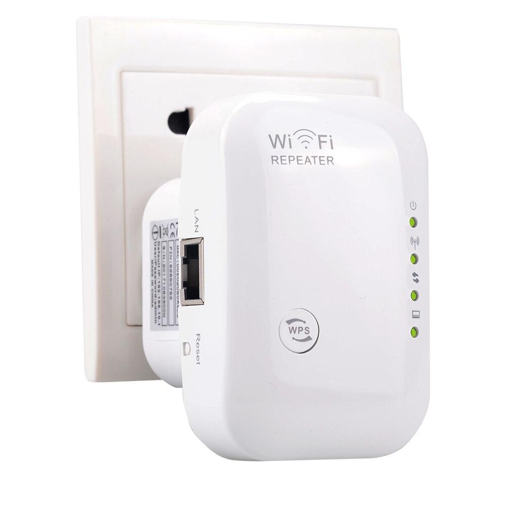 300 Mbps 802.11n/g/b Wireless WiFi Repeater Network Router Gamma Extander Antenna segnale di richiamo estendere wifi bianco colore