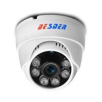 BESDER 2.8MM Wide Angle 1080P 960P 720P DOME Indoor IP Camera DC12V/POE48V Network IR P2P ONVIF Xmeye 2.0MP 1.3MP 1.0MP CCTV Cam Surveillance Cameras