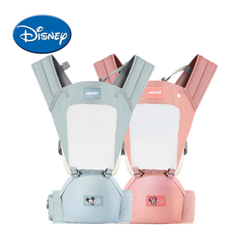 Disney Breathable Multifunctional Front Facing Baby Carrier Infant Baby Sling Backpack Pouch Wrap Disney Accessories цена 2017