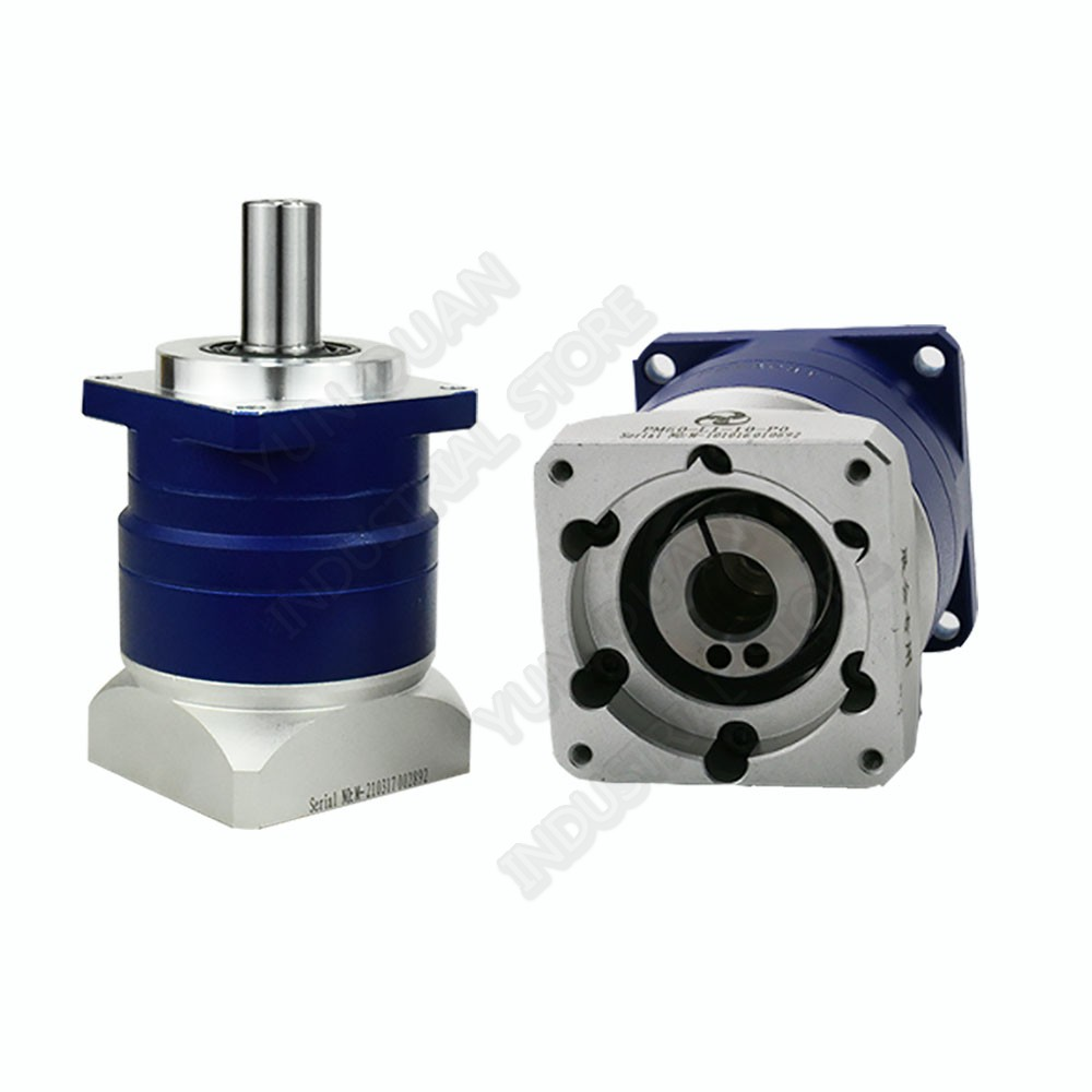 50 :1 Helical Gear Planetary Ratio 50 Reducer Gearbox 19mm for 90mm 750W 1KW AC Servo Motor Robot50 :1 Helical Gear Planetary Ratio 50 Reducer Gearbox 19mm for 90mm 750W 1KW AC Servo Motor Robot