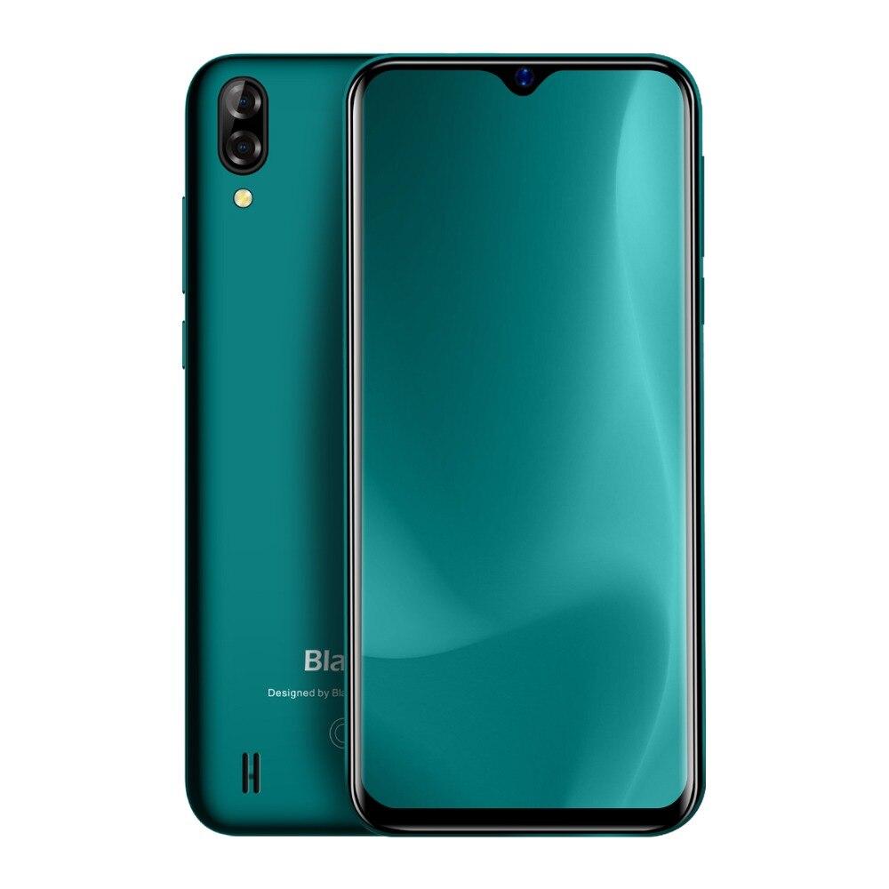 Blackview A60 3G téléphone portable Android 8.1 Smartphone Quad Core 4080 mAh téléphone portable 1 GB + 16 GB 6.1 pouces 19.2: 9 écran double caméra