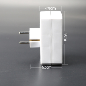 Image 4 - Rdxone 16A штепсельная вилка Европейского типа с 1 на 2 варианта розетка адаптера питания европейского стандарта с переключателем