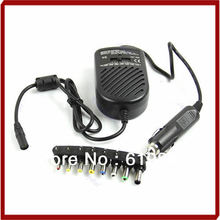 цена на NoEnName_Null Universal DC 80W Car Auto Charger Power Supply Adapter Set For Laptop Notebook
