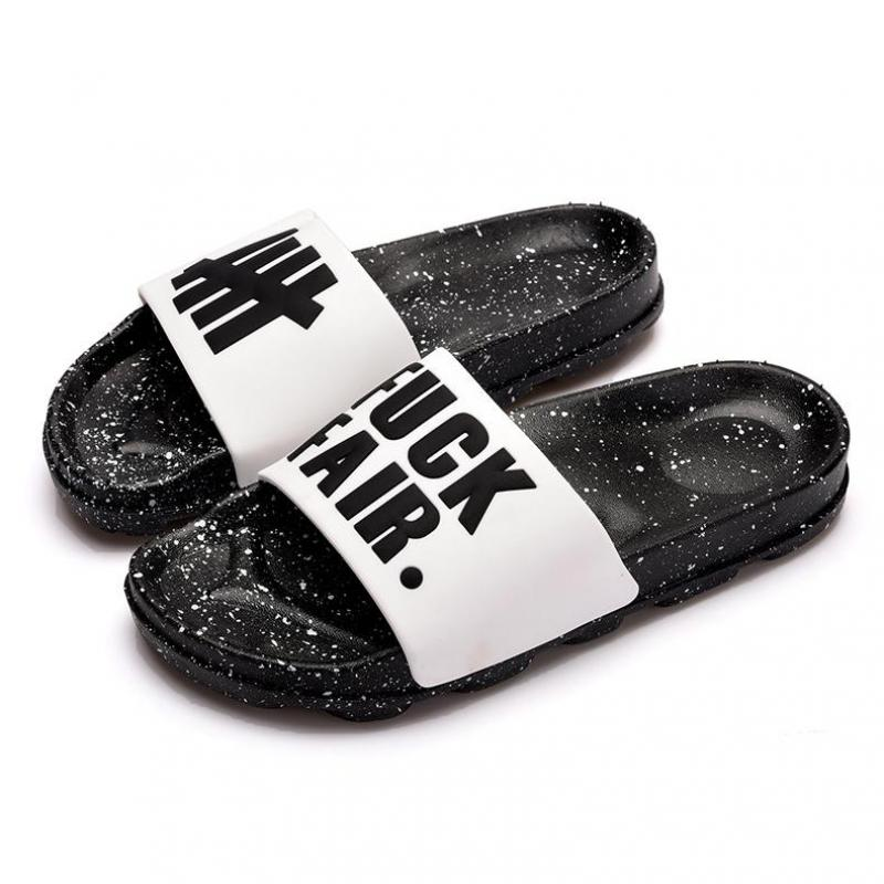 Fashion Letter Couple Slippers Summer Beach Sandals Men Women Outdoor Designers Flip Flops Indoor Bathroom House Slippers Man