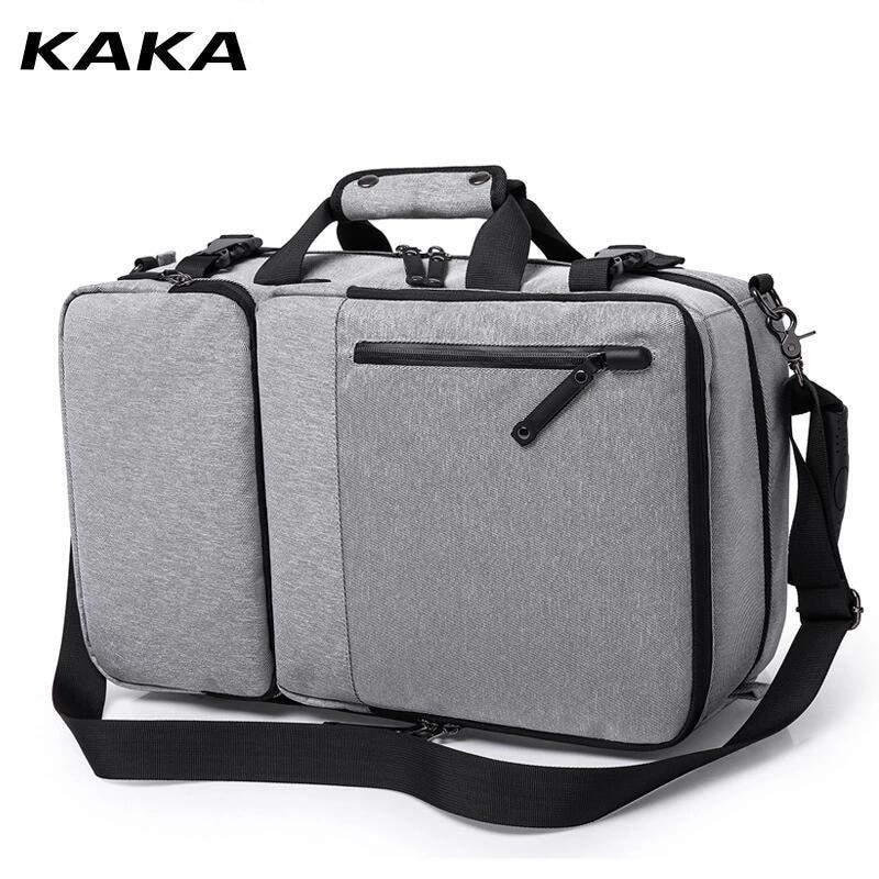 KAKA haute capacité 15.6 pouces ordinateur portable Anti-vol sac à dos hommes affaires bagages sacs à bandoulière étanche voyage sacs à dos cartable