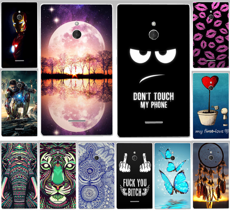 Hard Painted Cases Back Cover For Nokia X2 dual sim Animal Rhinoceros Tiger Lips Dreamchatcher Phone Case Skin Shell Capa Para
