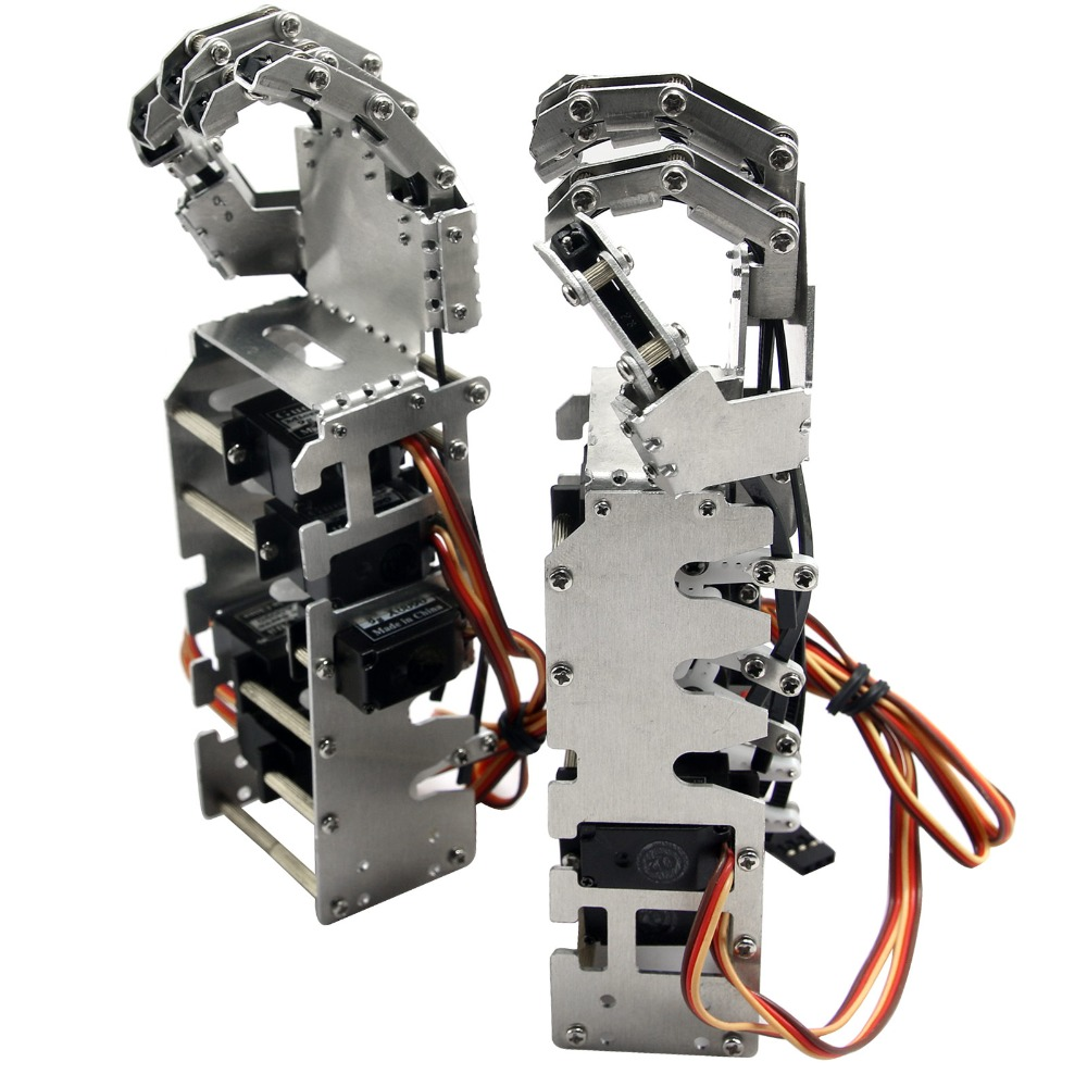2018. NOVO 5DOF humanoidni metalni manipulator s pet prstiju Ruka - Pametna elektronika - Foto 2