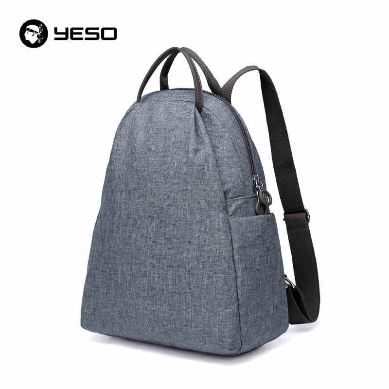 ФОТО Newest Preppy Style Backpack For Women 12 13 14 inch Laptop Backpacks Waterproof Oxford School Bags For Teenagers Girls YESO