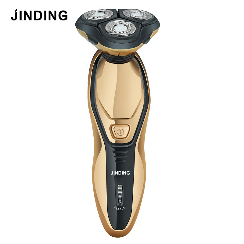 JINDING Electric Shaver For Men Rechargeable Men's Shaving Machine Waterproof Beard Shaver 3D Floating Head Washable Fast Charge
