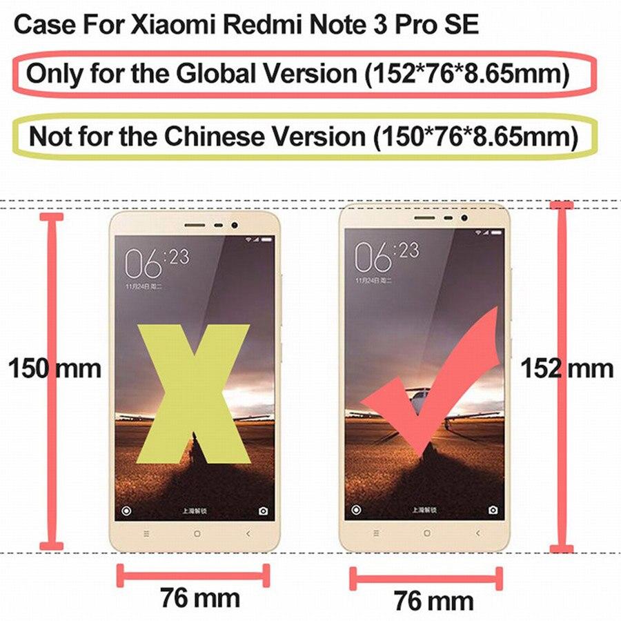 Cases for 5.5″ 152mm Xiaomi Redmi Note 3 Pro SE Prime Case Cover Special Edition Soft TPU Phone Xiaomi Redmi Note 3 Pro Case