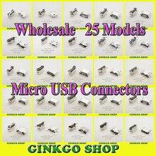 Universial 25Models Micro USB Connector Jack 5P 5Pin Sockect repairing Mobile Phone for Huawei Sony Samsung Htc Lenovo Zte цена в Москве и Питере