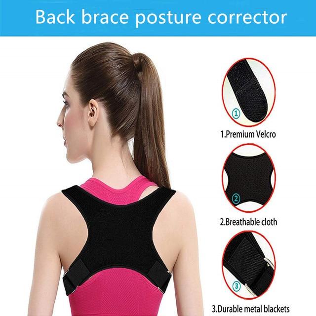Spine Posture Corrector Protection Back Shoulder Pain Relief 3