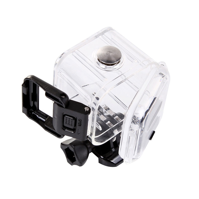 Image 3 - 45 Meter Underwater Waterproof Case for GoPro Hero 4 Session 5 Session Action Camera Diving Housing Mount for Go Pro Accessorie-in Sports Camcorder Cases from Consumer Electronics