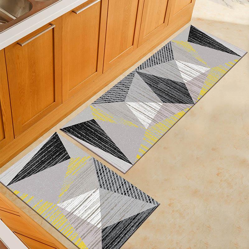 """Bee and Honeycomb Bath Rug Non-Slip Floor Outdoor Indoor Front Door Mat 16x24/"""""""