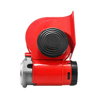 RUS Warehouse Universal Snail Air Horn High Power Loud Car Electric Siren For Cars Truck MotorVehicle Motorcycle Accessories