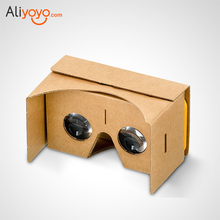3D Glasses Virtual Reality Glasses Google Cardboard Glasses  VR Box Movies For Samsung Xiaomi iPhone 5 6 7 SmartPhones VR