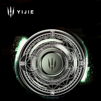 Magic circle Fidget spinners metal sun moon stars array hand Spinner EDC For ADHD Autism spinner finger Anti Stress puzzle Toys