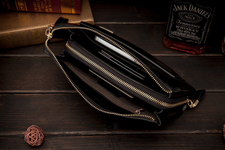 Lange Geldbörse Size Designer Brieftasche Size Kupplung Yinte Luxus Handliche Marke Doppel Portfolio small Business Mens Männer Big Brieftaschen Männlichen Leder Tasche reißverschluss twqzzB41