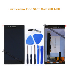 """5.0 """"สำหรับ Lenovo Vibe Shot Max Z90 + หน้าจอสัมผัสสำหรับ Lenovo Z90 Z90A40 Z90 7 LCD Z90 7 จอแสดงผลอะไหล่ซ่อม"""