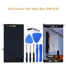 """5.0 """"עבור Lenovo Vibe Shot מקס Z90 תצוגה + מגע החלפת מסך עבור Lenovo Z90 Z90A40 Z90 7 LCD Z90 7 תצוגת תיקון חלקים"""