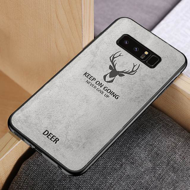 Ultra-thin Shockproof Soft Silicone Matte Batman Christmas Deer Case For Samsung Galaxy s8 s9 s10 Plus Note 8 9 Original Cover 2