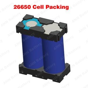 Image 5 - 26650 suporte da bateria do li íon (2 p suporte) para o lítio cilíndrico de 26650 e o diâmetro do furo da bateria lifepo4 é 26.3mm ou 26.7mm