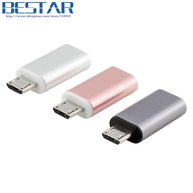 TOP որակը Վարդագույն ոսկի Metal USB 3.1 Type C - Համակարգչային մալուխներ և միակցիչներ - Լուսանկար 2