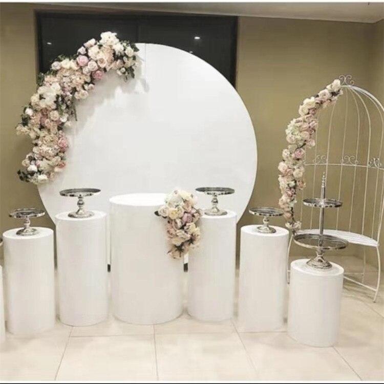 Grandes círculos de ferro stand para o aniversário de Casamento do chuveiro do bebê panos de fundo do palco suporte de metal para DIY flores partido decoração do gramado ao ar livre