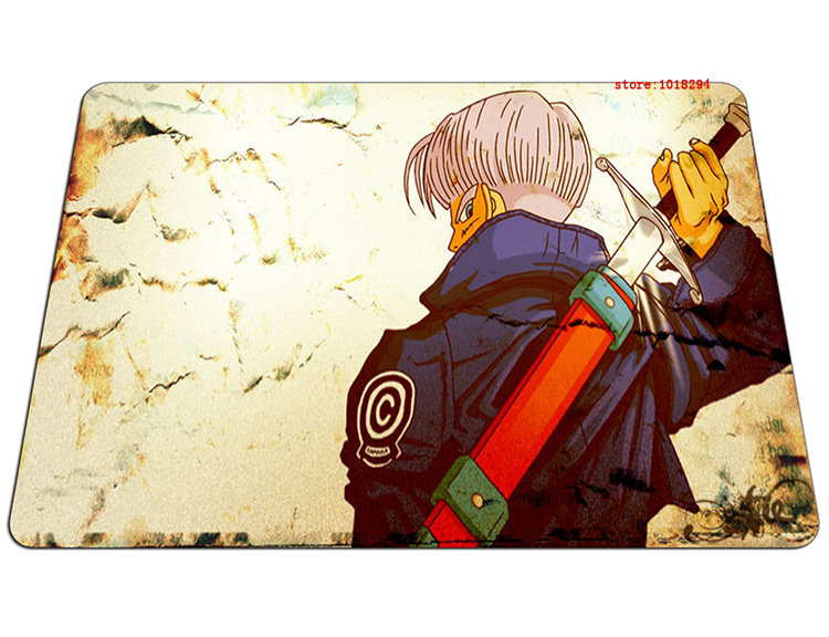 Dragon Ball mouse pad Adult Trunks mousepad laptop Dragon Ball Z mouse pad gear notbook computer anime gaming mouse pad gamer