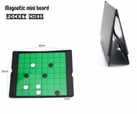U3 Reversi Game Magnetic Folding Mini Board Pocket Chess Checkers Game Of Go For Children S