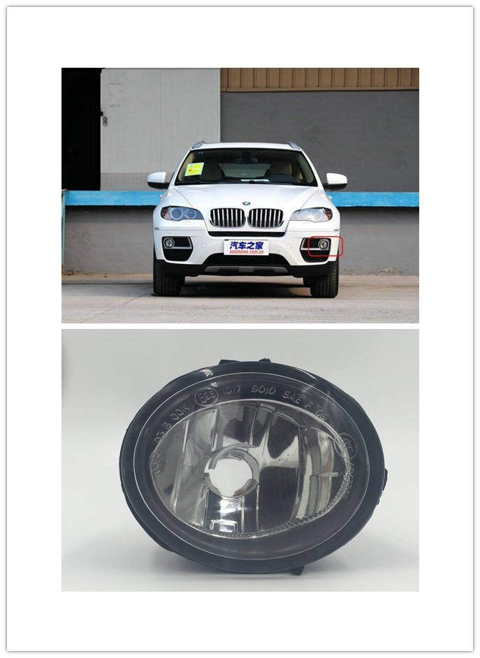 OEM Fog light  driving lamp driving light Replacement For  BMW E84 X6(2013-2016)1 PCS New