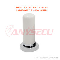 Dual Band VHF/ UHF Mobile/Vehicle Radio Antenna HH-N2RS White Color for KT8900 KT8900R BJ-218 TM-218