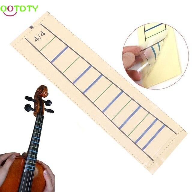 Violine Griffbrett Aufkleber Band Geige Diagramm Finger Marker für 4 ...