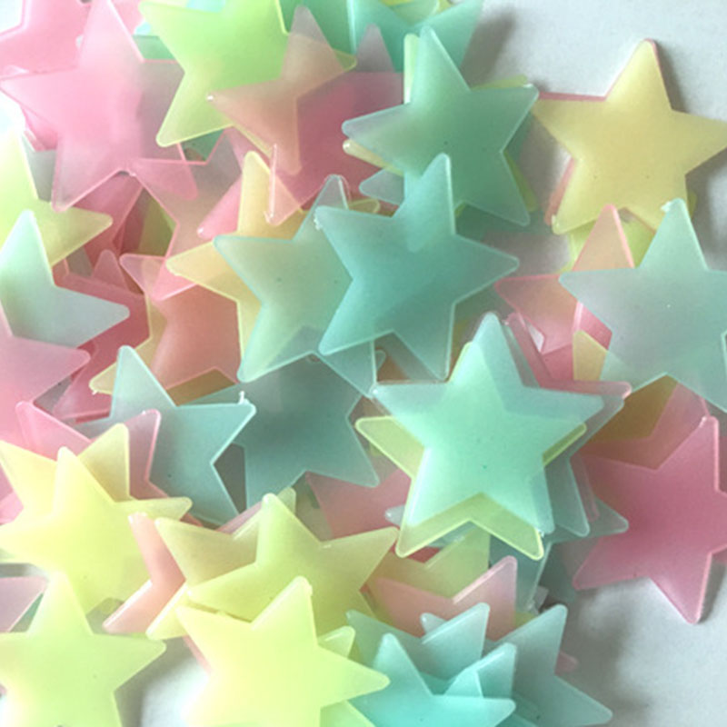 Aliexpress.com : Buy Glow In The Dark Star Stickers Decal