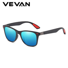 VEVAN 2019 Classic Square Polarized Sunglasses Men Women Brand Designer UV400 Sun Glasses Driving Mirror Blue oculos de sol все цены