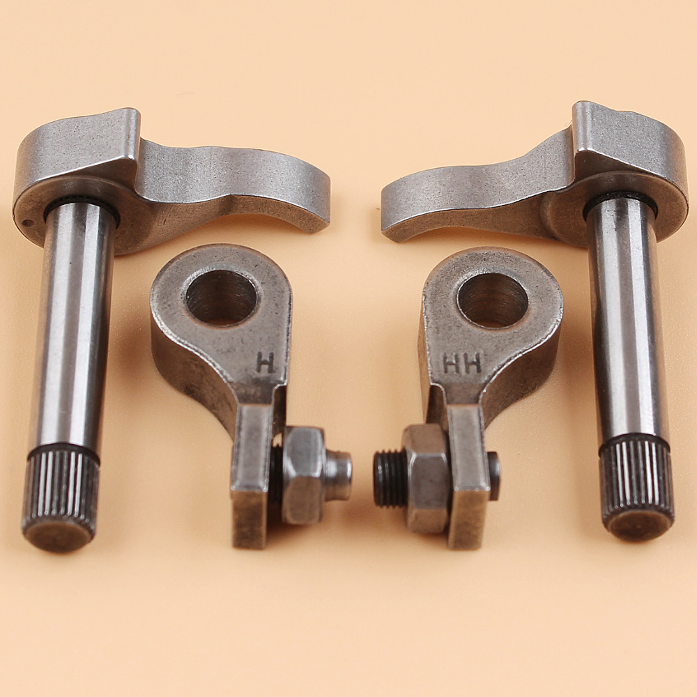 Intake Exhaust Valve Rocker Lifter Arm Set For HONDA GX25 GX25N GX25NT GX25T Engine Motor HHT25S Trimmer Cutter FG110 Rototiller