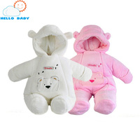 new high quality fashion Style newborn winter jackets for baby coats clothing coral fleece winter jumpsuits outerwear brand kids