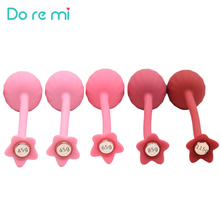 Do re mi Silicone Vaginal Contraction Kegel Ball Ben Wa Ball Clitoris Stimulation Tightening Vaginal Muscle Movement Adult