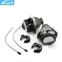 RONAN 2.5 bi xenon Projector Headlight Lens for HONDA New Accord Acura TL Odyssey Toyota Sienna 4TL R Auto Lamps D2S Retrofit