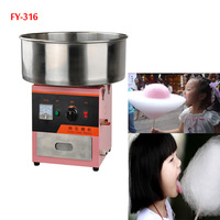 1PC 110/220V Cotton candy floss machine FY 316 Stainless Steel commercial Electricity cotton candy machine